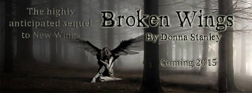 broken wings release announcement for facebook